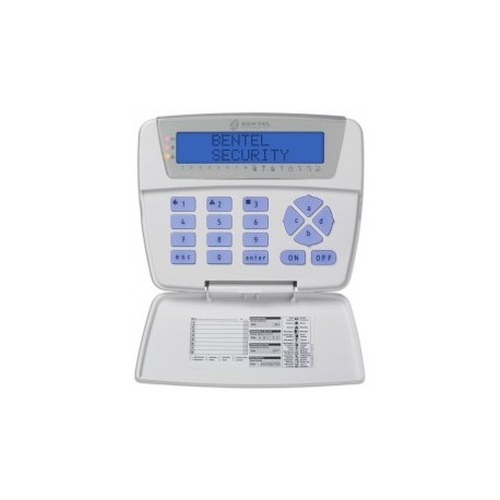 BENTEL - LCD Keypad for central alarm ABSOLUTA