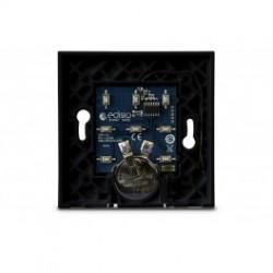 Edisio - Base intrrupteur negro de 1 a 5 canales