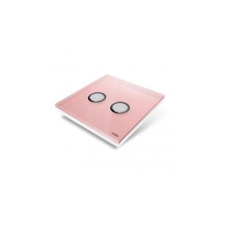 EDISIO - abdeckplatte Diamond - Rose-2 tasten