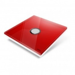 EDISIO - abdeckplatte-Diamond - Rot 1 taste