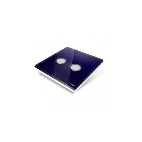 EDISIO - cover Plate Diamond - Blue-night-2 keys