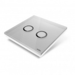 EDISIO - cover Plate Diamond - Grey 2 keys