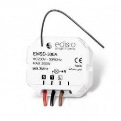 EDISIO - Receiver 868,3 MHz on / Off / Dimmer without neutral