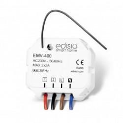 EDISIO - Empfänger 868,3 MHz 2 schaltungen 2 A