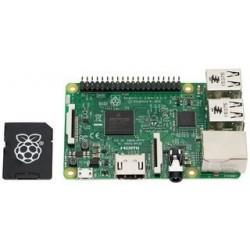 Raspberry Pi 3 Modèle B avec carte micro SD 16 Go NOOBS