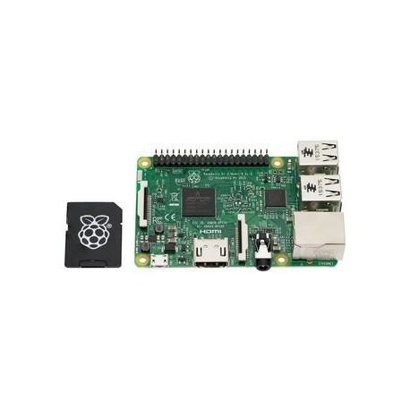 RASPBERRY PI3 - Raspberry Pi 3 Model B with micro SD card up to 16 Gb