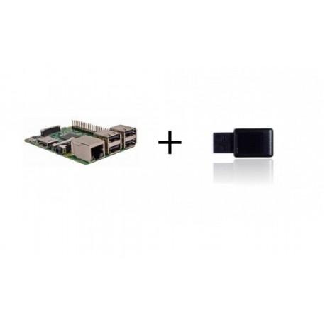 Lampone PI3 - Lampone Pi3 con controller Z-wave più