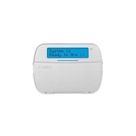 PowerSeries NEO Teclado DSC LCD de radio HS2LCDWFP con la insignia del lector