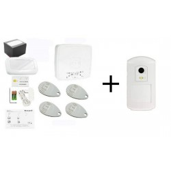 Pack Alarm THE SUGAR - Pack Honeywell detector camera