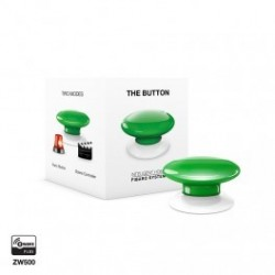 FIBARO - Bouton de commande The Button Z-Wave Plus vert