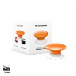 FIBARO - Bouton de commande The Button Z-Wave Plus jaune
