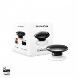 FIBARO FGPB-101-2 - Bouton de commande The Button Z-Wave Plus noir