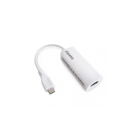 ZIPATO - RTL8152 Adaptateur Micro-USB vers Ethernet pour Zipatile