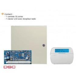 Allarme NEO DSC - Pack centrale di allarme NEO 6 a 16 zone con tastiera