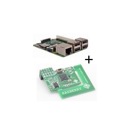 Raspberry Pi 3 Modele B Wifi Et Bluetooth Carte Z Wave Plus