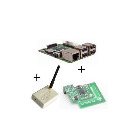 Raspberry - Raspberry Pi 3 with card z-wave.me and Rfxcom