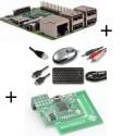 Frambuesa Pi3 tarjeta de Z-Wave Plus y cable