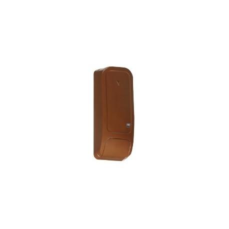 PG8945BR DSC Wireless Premium - Contact ouverture marron avec entrée auxiliaire Wireless Premium