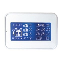 WK160 DSC Wireless Premium - touch Keyboard for central alarm Wireless Premium