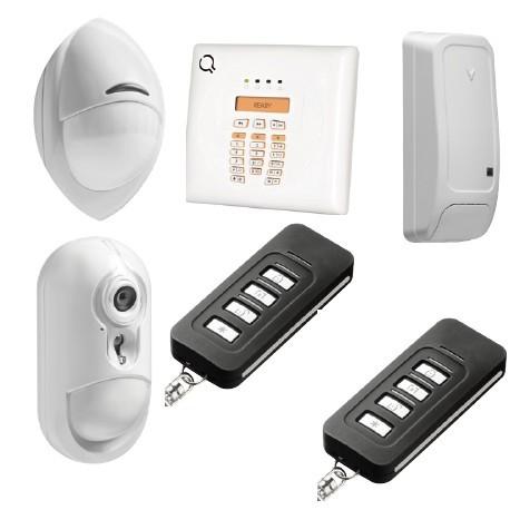 Alarm DSC-Wireless Premium - Pack-alarmanlage mit IP-sensor-kamera PowerG