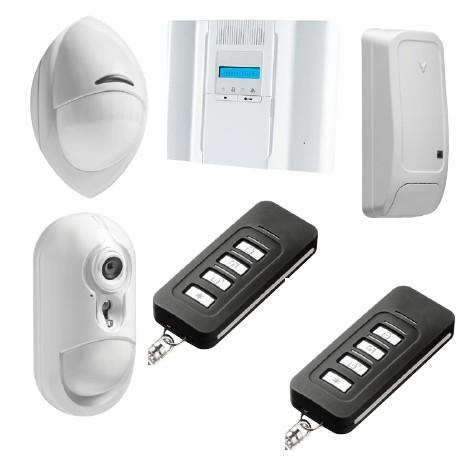 Alarma DSC Inalámbrico Premium Pack de alarma IP detector de la cámara PowerG