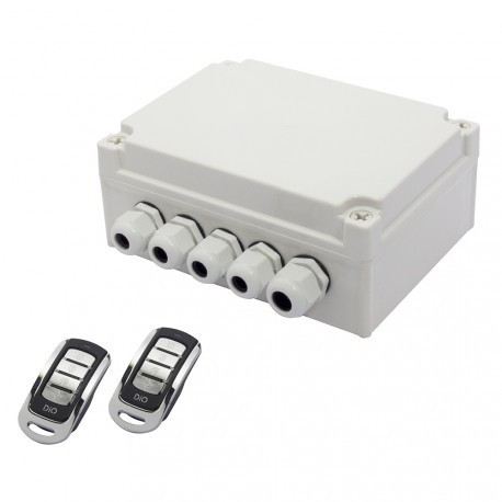 DIO ED-GK-01 - Kit de jardín con dos mandos a distancia de 4 canales