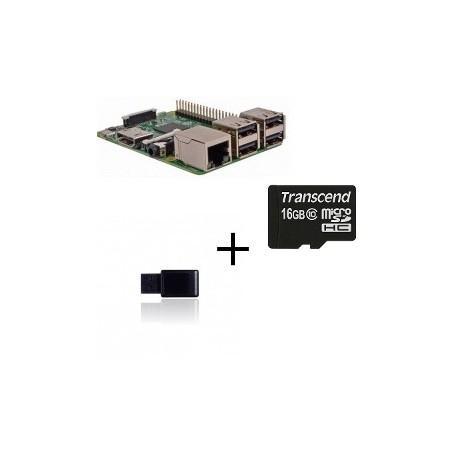 Lampone PI3 Jeedom - Lampone Pi3 con controller Z-wave scheda SD 16gb