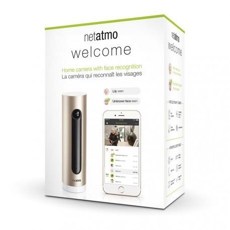 NETATMO NSC01-EU - Welcome-Kamera, gesichtserkennung