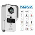 KONX KW02C+ - Portier vidéo WiFi ou Ethernet / IP lecteur RFID avec sonnette