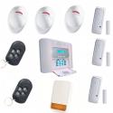 La alarma de la casa PowerMaster 30 De Visonic KIT de la carcasa 6 Más
