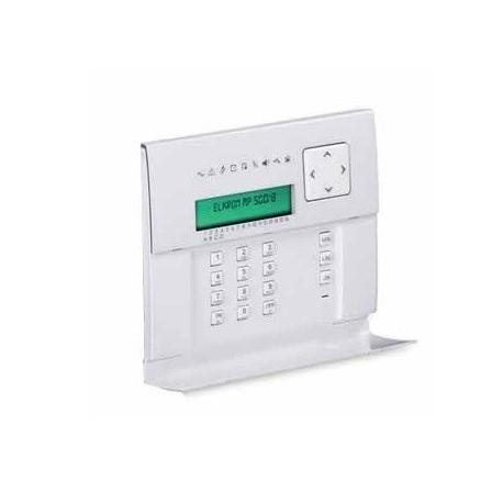 Elkron UKP500D/N - Teclado LCD para central de alarma UMP500