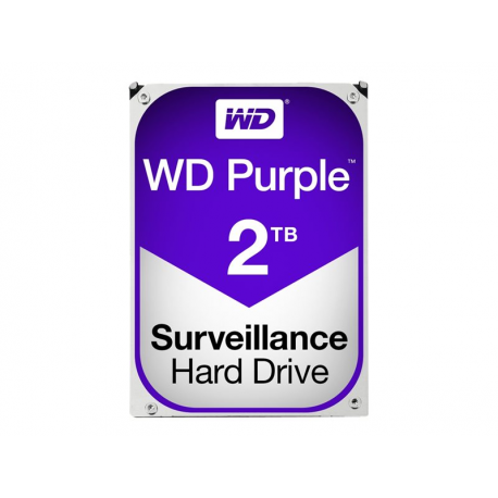 "Festplatte Purple - Western Digital 2TB 5400 u/min 3,5"""