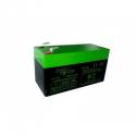 Alarma de batería - Batería de 12V 1.3 Ah el Poder de la Energía
