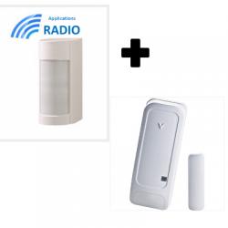 Visonic VXIR-PG2 al aire libre detector de doble tecnología IRP 12M 90° IP55