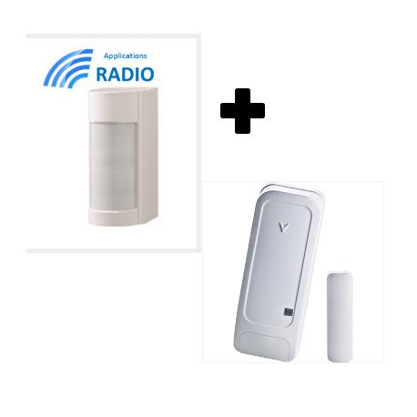 Visonic VXIR-PG2 outdoor detector dual tech IRP 12M 90° IP55