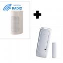 Visonic VXI-RDAM - Detector al aire libre de alarma accesorios optex ANTI-MÁSCARA