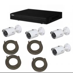 Pack video sorveglianza DAHUA IP 2MP 4 telecamere