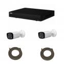 Pack vidéosurveillance DAHUA IP 4 Mégapixel 2 caméras