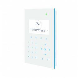 Tastatur alarm SPCK521 leser und sprachsynthese Vanderbilt