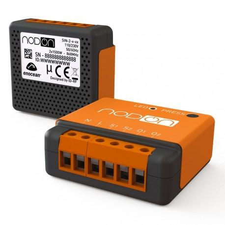 Nodon SIN-2-2-01 - Micro module schalter doppel-EnOcean