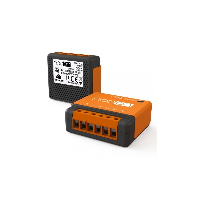 NodOn SIN-2-2-00 Module Encastr/é Orange