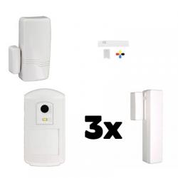 La alarma de la casa EL AZÚCAR Honeywell - Pack de Honeywell de seguridad IP y GSM