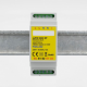 EUTONOMY - Adaptateur euFIX DIN pour Fibaro FGS-222 sans boutons
