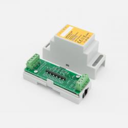 EUTONOMY - Adattatore euFIX DIN per Fibaro FGS-213 senza pulsanti