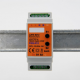 EUTONOMY S212 - Adattatore euFIX DIN per Fibaro FGS-212 con pulsanti