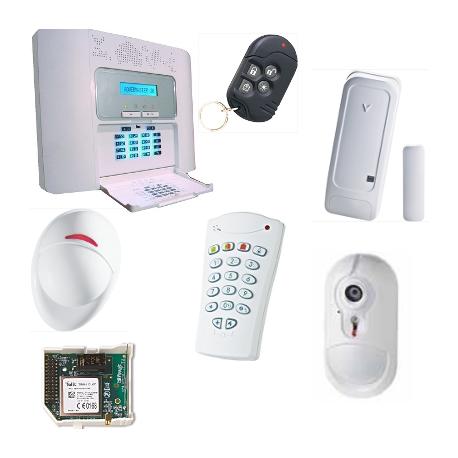 Visonic Alarm NFA2P - Pack alarm PowerMaster30 GSM-kamera