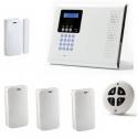 Pack Alarme maison sans fil - Pack alarme Iconnect IP / GSM F3 / F4
