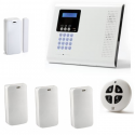 Pack Allarme casa wireless - Pack allarme Iconnect IP / GSM F3 / F4