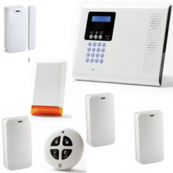 Allarme casa wireless - Pack Iconnect IP / GSM sirena strobo