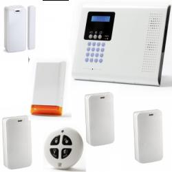 Allarme casa wireless - Pack Iconnect IP / GSM F3 / F4 con sirena